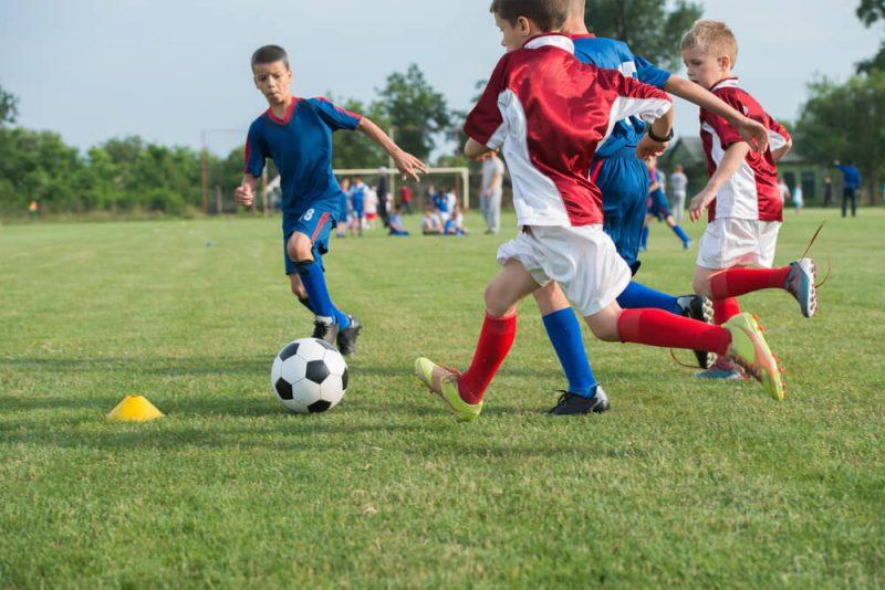 Risk för smärtor när barn som växer tränar hårt