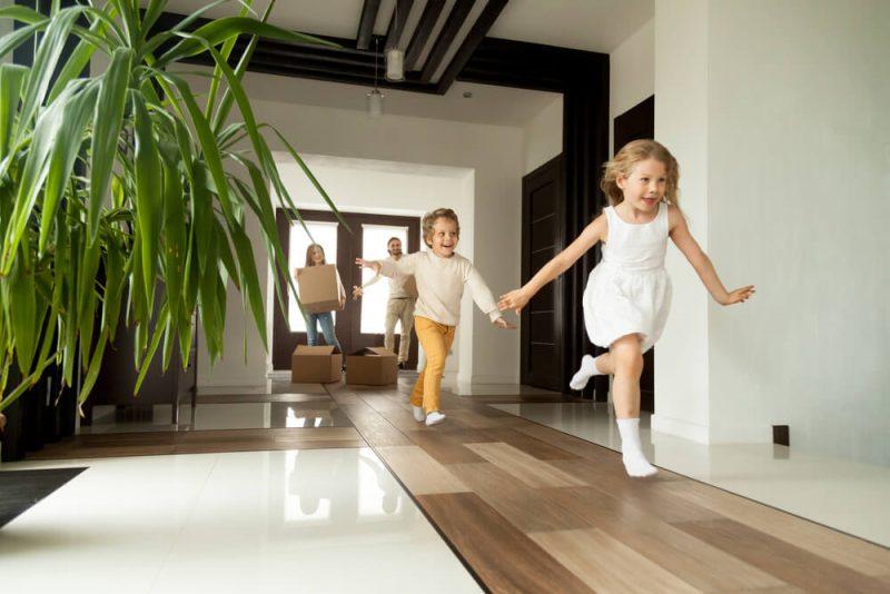 Svårt att flytta med barn inblandade