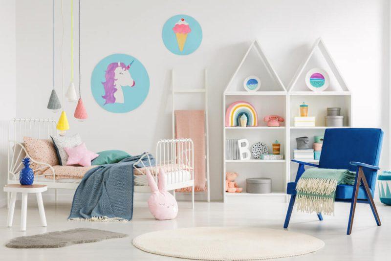 Hur ska man måla i barnrummet?