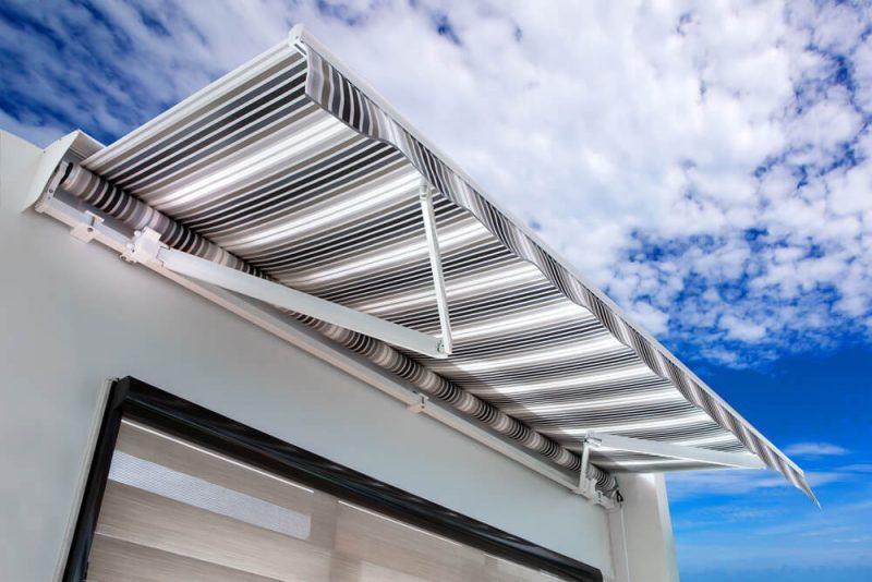 Markiser ger ett behagligare inomhusklimat